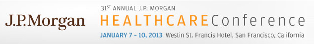 jp morgan healthcare conference